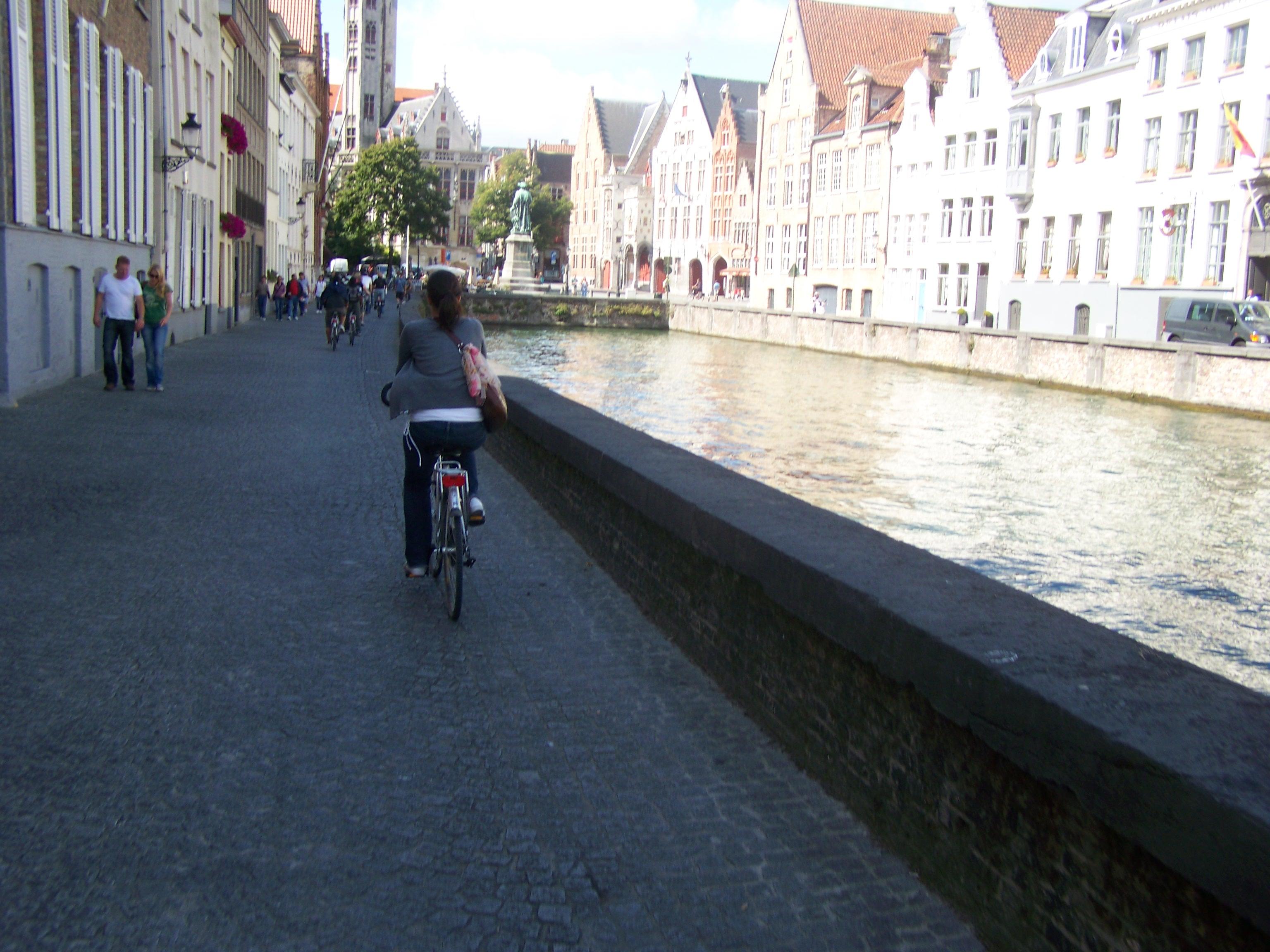 Bruges Bike Landscape