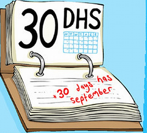 30 Days Has September