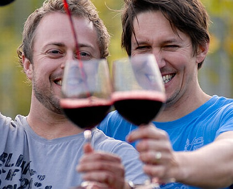 Meet the Qwoff Boys, two of my favourite wine nerds …