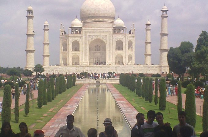 Pilgrimage to the Taj Mahal by Josh Bryer