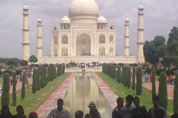 Pilgrimage to the Taj Mahal by Josh Bryer