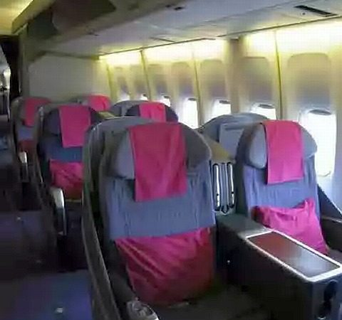 Airline Review: Thai Airways Business Class