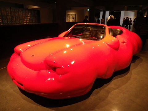 The fat Porsche by Erwin Wurm
