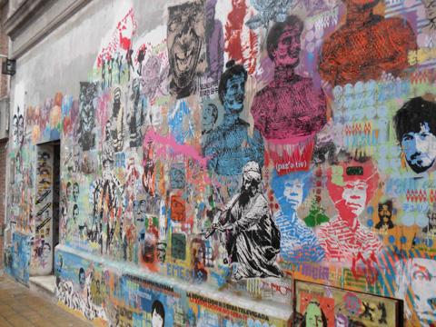 Graffitimundo tour, Buenos Aires