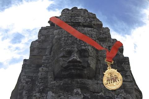 The 2011 Angkor Wat Half Marathon