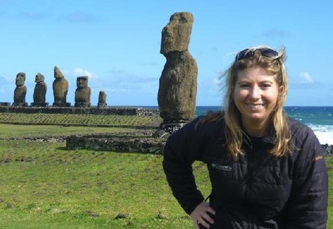 Easter Island photo Angela Saurine