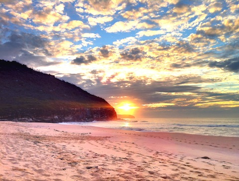 Tallow Beach Camping, NSW