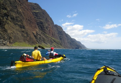 Paddling the Na Pali Coast, Kaua'i