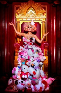 Lady-Gaga-Hello-Kitty-Dress