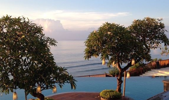 The view from Anantara Resort and Spa Uluwatu