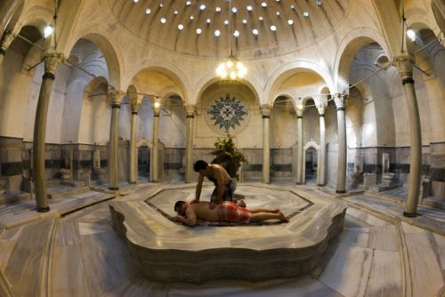 Hilarious account of a Turkish hamam experience