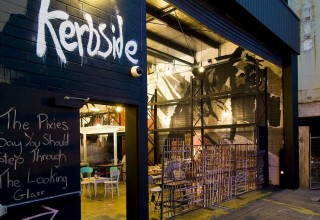 Kerbside bar is satisfyingly juvenile