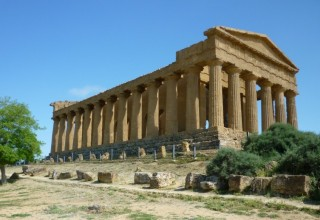 The Temple of Concord, Agrigento