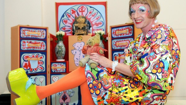 The Grayson Perry exhibition is on at the MCA and it's BRILLIANT