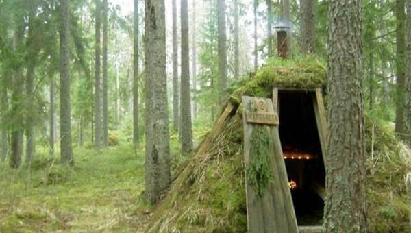 Kolarbyn eco lodge in Sweden