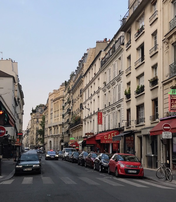 Louisa Deasey in Paris