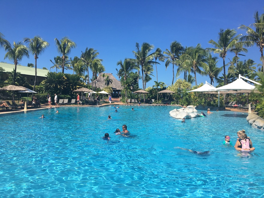 Outrigger Fiji lagoon pool