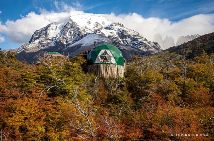 Unusual glamping sites around the world