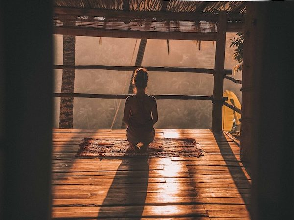 Self healing with meditation in Bali