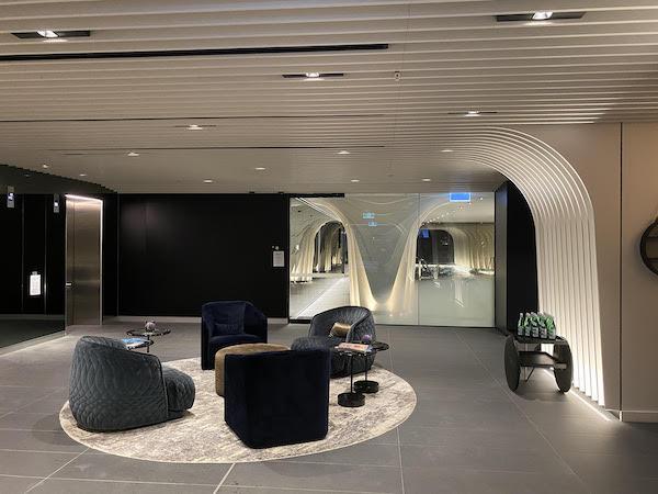 Skye Suites Sydney lobby
