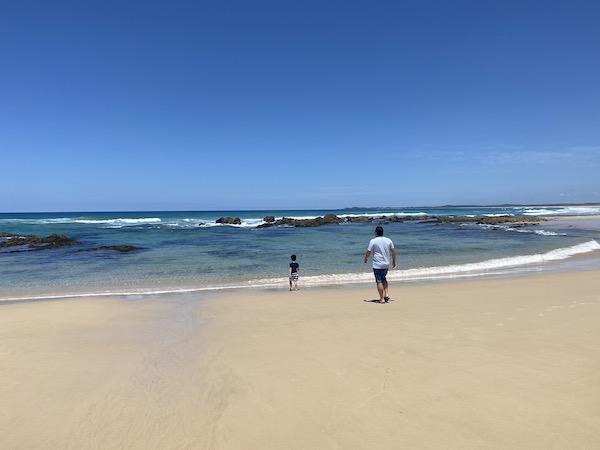 Yuraygir coastal walk beach